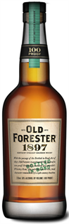 Old Forester Bourbon Bottled In Bond 1897...